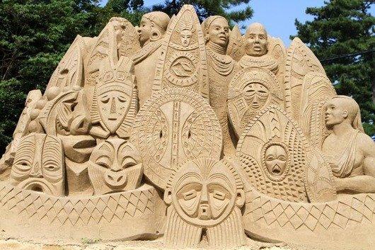 サンドアート,砂,芸術,画像,まとめ004