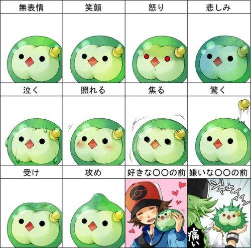 キャラクター,表情,一覧,画像,まとめ005