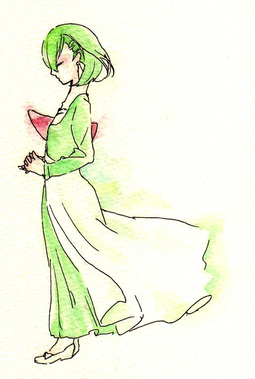 ポケモン,ポケットモンスター,擬人化,水彩,画像,まとめ036