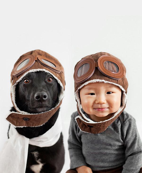 犬,こども,癒し,画像,まとめ019