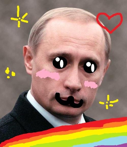 プーチン大統領,おもしろ,コラ,画像,まとめ005