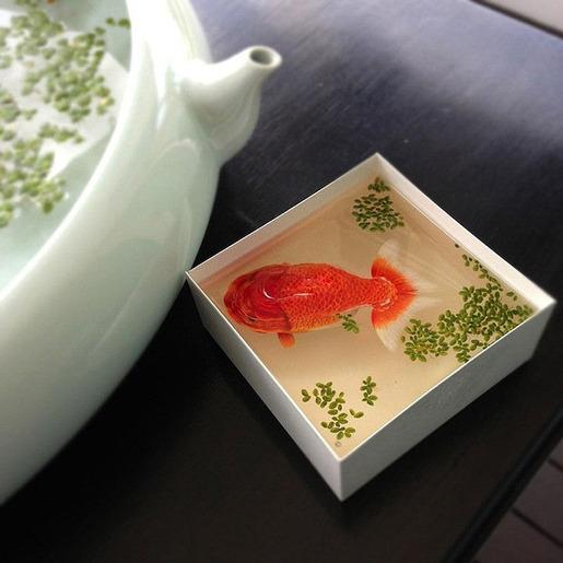 金魚アート,画像,まとめ017