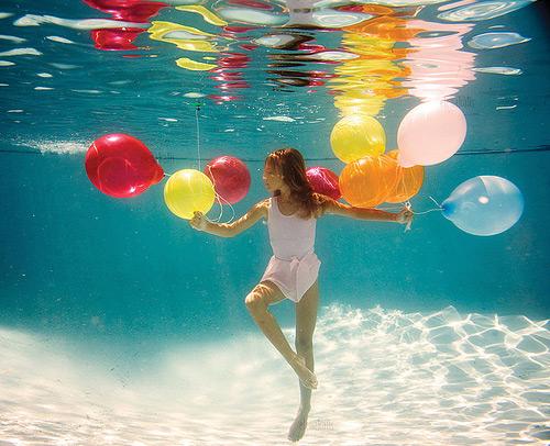 美少女,幻想的,水中アート,画像,まとめ001