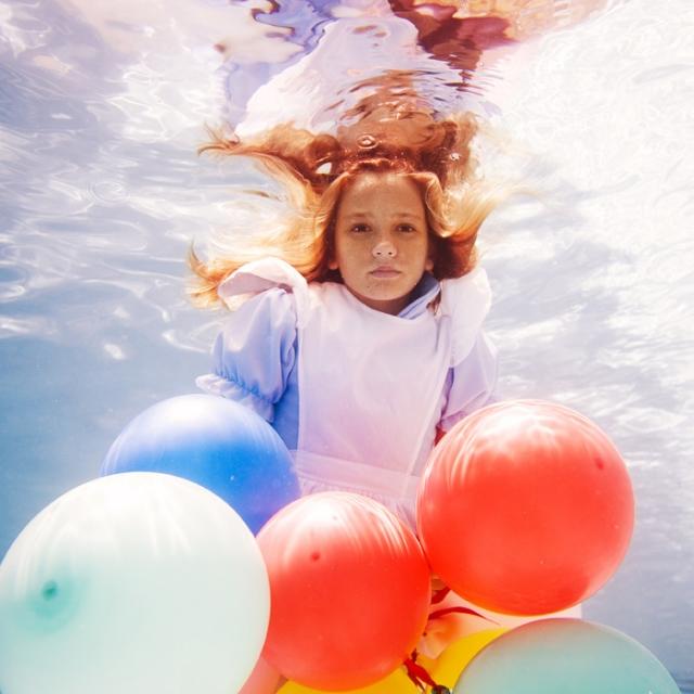 美少女,幻想的,水中アート,画像,まとめ010