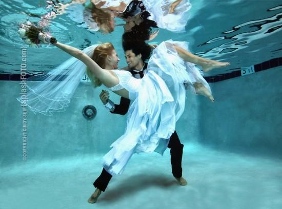 美少女,幻想的,水中アート,画像,まとめ011