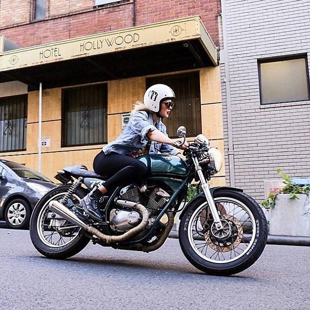 カッコいい,バイク女子,画像,まとめ011