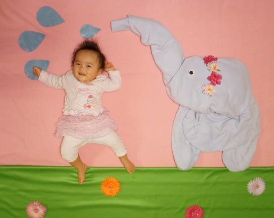 赤ちゃん,寝相アート,画像,可愛すぎる,話題017