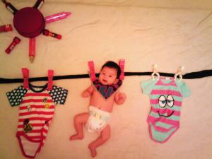 赤ちゃん,寝相アート,画像,可愛すぎる,話題018