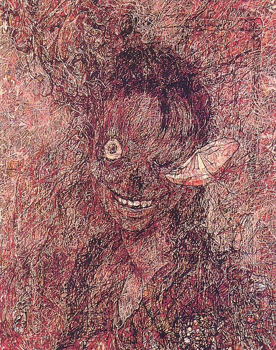 怖すぎ,ビビる,ホラーアート,画像,まとめ020