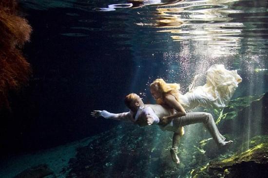 美少女,幻想的,水中アート,画像,まとめ024