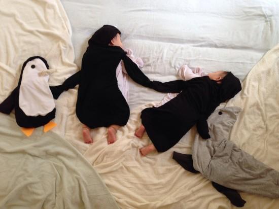 赤ちゃん,寝相アート,画像,可愛すぎる,話題031