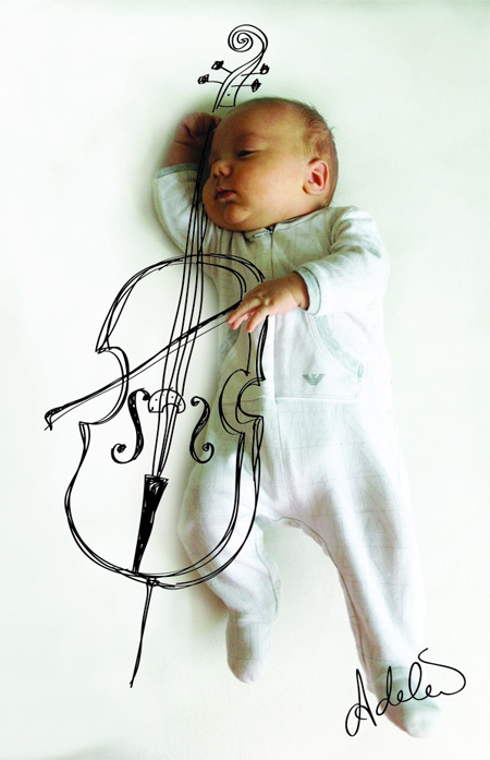 癒し,赤ちゃん,アート,画像,まとめ039
