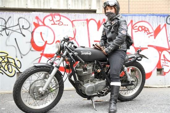 カッコいい,バイク女子,画像,まとめ040