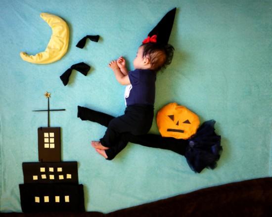 赤ちゃん,寝相アート,画像,可愛すぎる,話題054