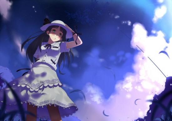 幻想的,二次,虹,美少女,画像,まとめ113