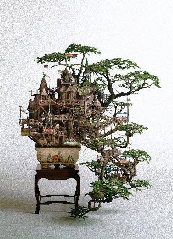 凄すぎる,盆栽アート,画像,まとめ003