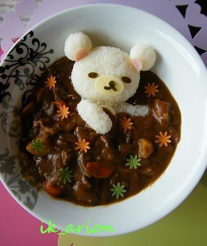 これはすごい,クマ,ご飯,アート画像,まとめ008