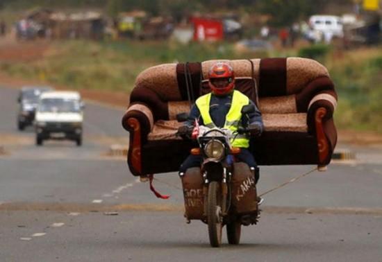 限界,バイク,荷物,積んでいる,おもしろ画像,まとめ001