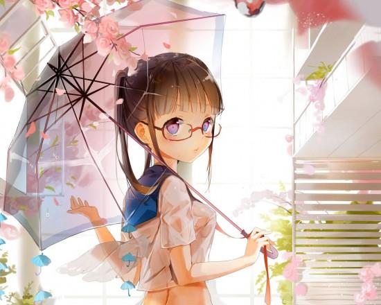可愛すぎる,二次,眼鏡っ子,画像,まとめ008