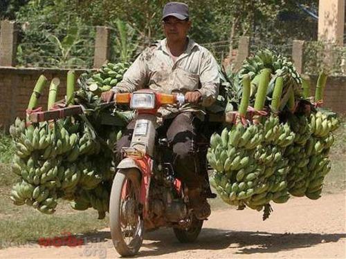 限界,バイク,荷物,積んでいる,おもしろ画像,まとめ010