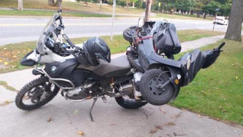 限界,バイク,荷物,積んでいる,おもしろ画像,まとめ022