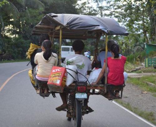 限界,バイク,荷物,積んでいる,おもしろ画像,まとめ024