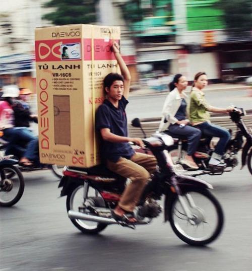 限界,バイク,荷物,積んでいる,おもしろ画像,まとめ028