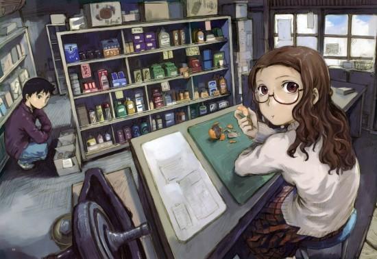 二次,虹,メガネっ子,メガネ,眼鏡,めがね,megane,画像,まとめ118