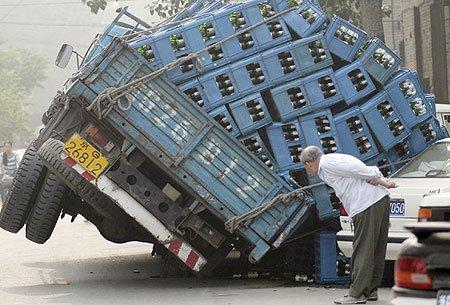 荷物,積み過ぎ,ハラハラ,画像,まとめ008