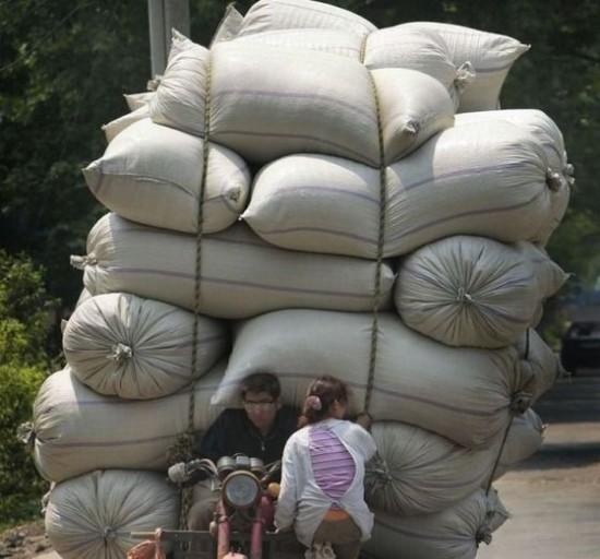 荷物,積み過ぎ,ハラハラ,画像,まとめ014