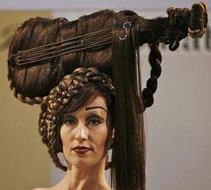 奇抜,ヘアスタイル,髪型,おもしろ画像,まとめ021