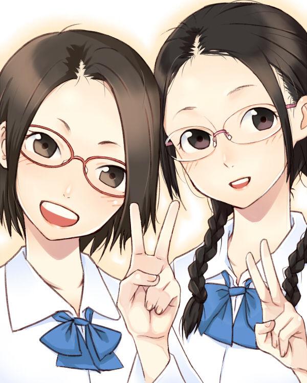 二次,虹,眼鏡っ子,メガネ,めがね,画像,厳選,貼っていく002