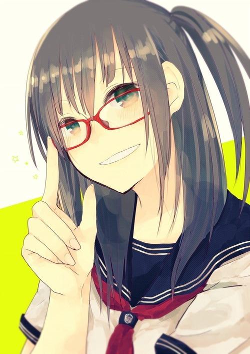 二次,虹,眼鏡っ子,メガネ,めがね,画像,厳選,貼っていく004