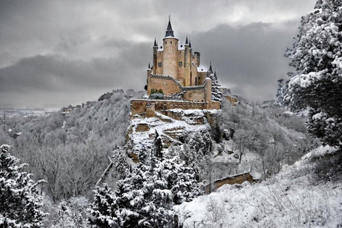 絶景,思わず見とれてしまう,冬,雪景色,画像,まとめ008