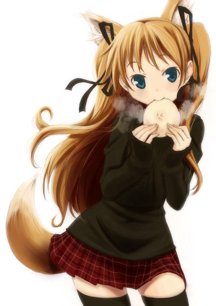 キツネ娘,狐娘,可愛すぎる,画像,まとめ014