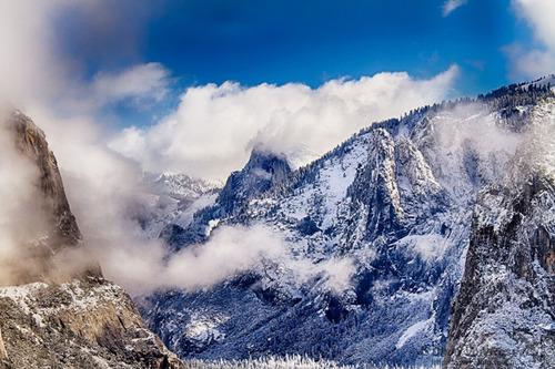 絶景,思わず見とれてしまう,冬,雪景色,画像,まとめ022