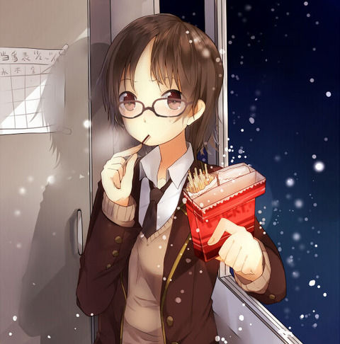 二次,虹,眼鏡っ子,メガネ,めがね,画像,厳選,貼っていく053