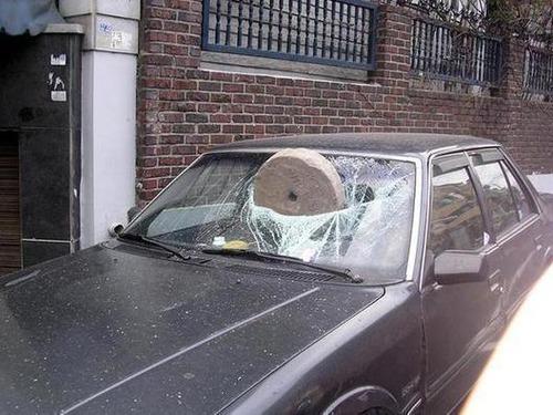 ざまぁ!,海外,違法駐車,イタズラ,画像002
