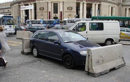 ざまぁ!,海外,違法駐車,イタズラ,画像006