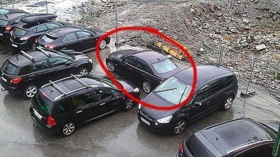 ざまぁ!,海外,違法駐車,イタズラ,画像016