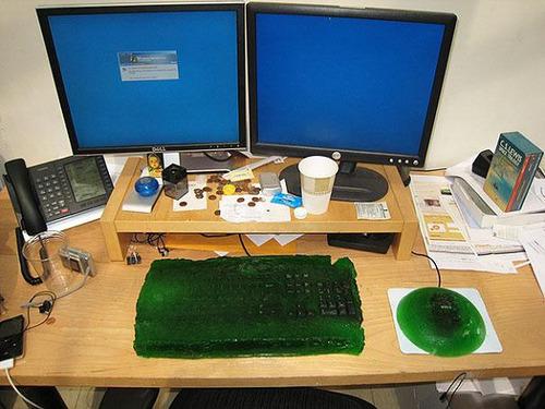 これはすごい,オフィス,イタズラ,画像060