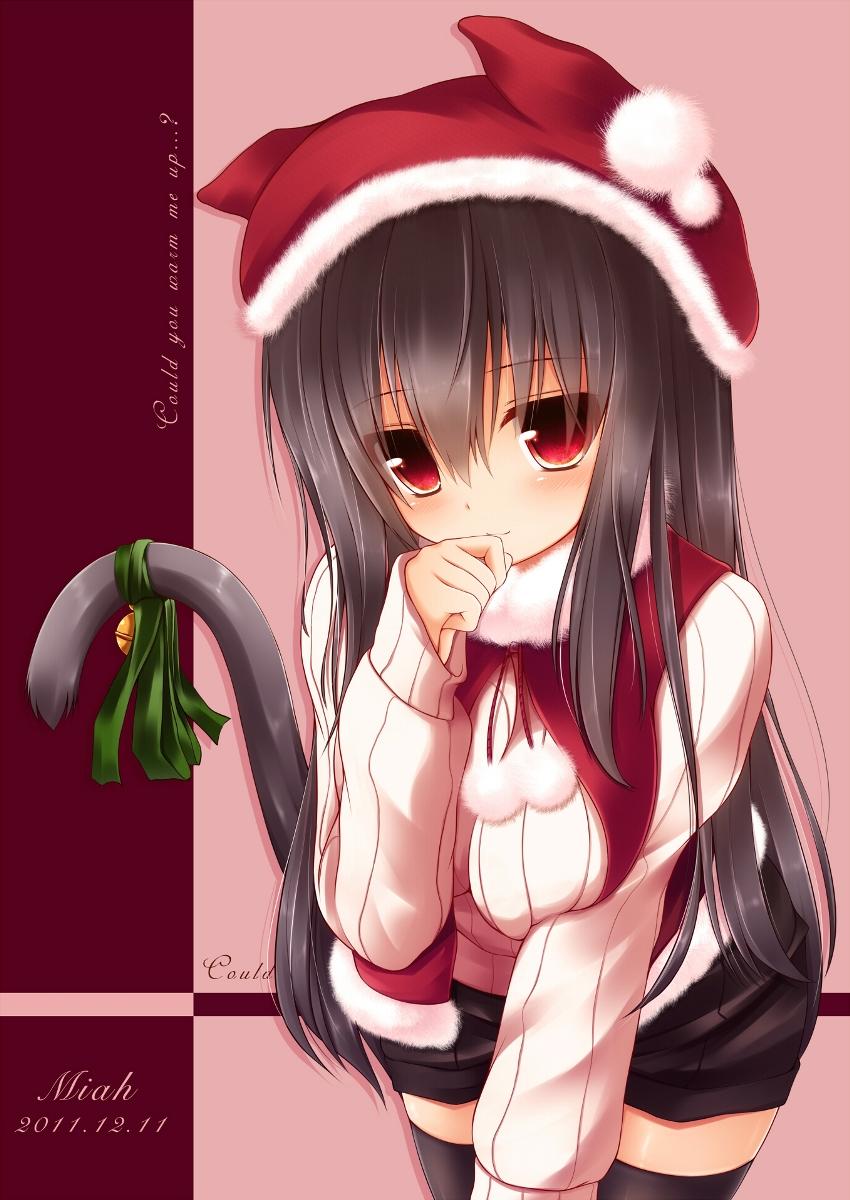 可愛すぎる,二次,虹,サンタ,女の子,画像,まとめ019