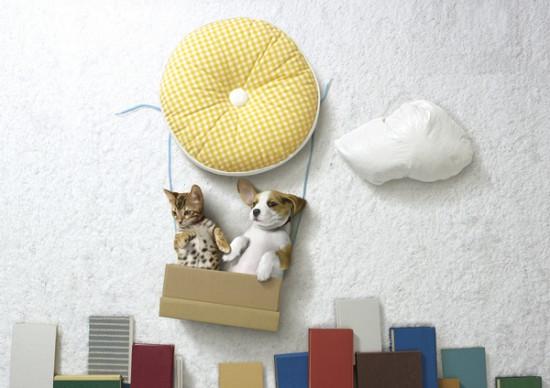 可愛い,動物,寝相アート,画像,まとめ007