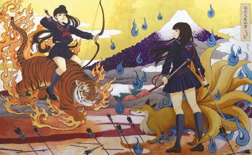 浮世絵アート,画像,まとめ001