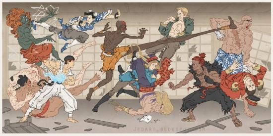 浮世絵アート,画像,まとめ045
