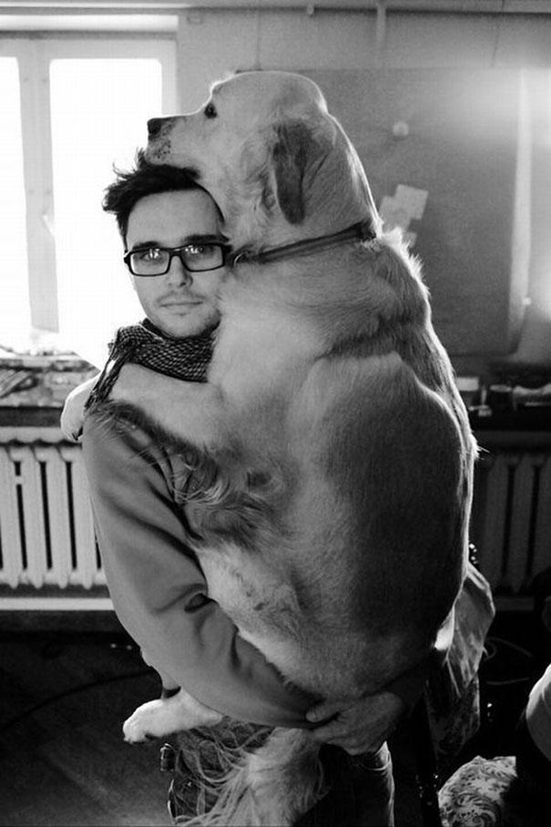 人間,仲良し,犬,画像,まとめ008