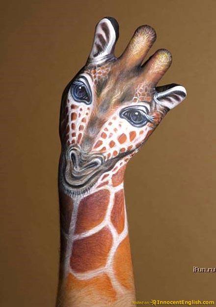 手,動物,ボディペイント,画像,まとめ012