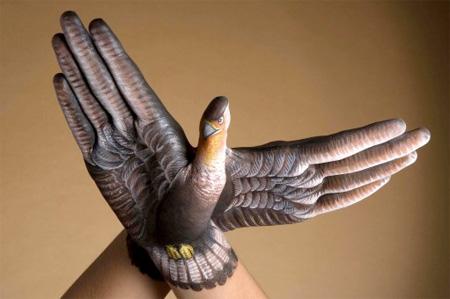 手,動物,ボディペイント,画像,まとめ015