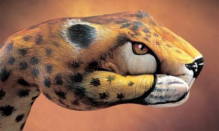 手,動物,ボディペイント,画像,まとめ019
