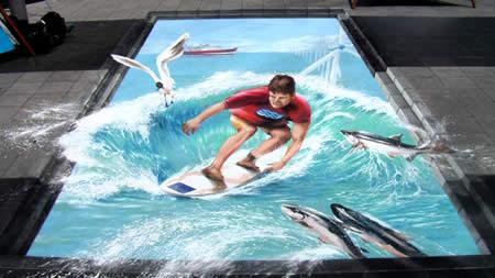 これはすごい,3D,トリックアート,だまし絵,画像,まとめ098